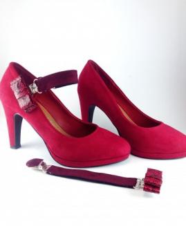 Lucy Clip Fashion 2001 rojo lazo