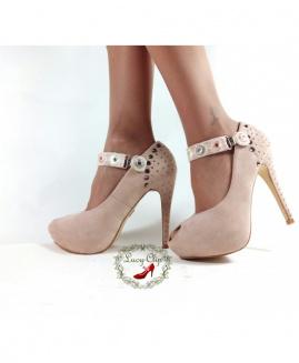 Lucy Clip Fashion Espejos Rosa