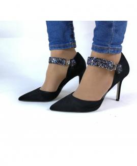 Lucy Clip Fashion GLITTER Oscuro