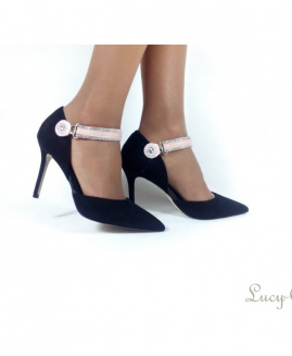 Lucy Clip Fashion rosa palo