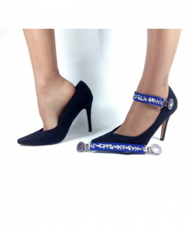 Lucy Clip Fashion Stras AZUL