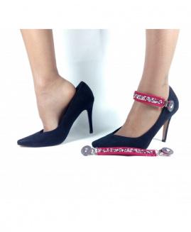 Lucy Clip Fashion Stras ROJO