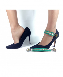 Lucy Clip Fashion Stras VERDE OSC
