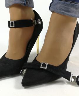 Lucy Clip Básico ajustable Negro