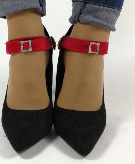 Lucy Clip Básico ajustable Rojo