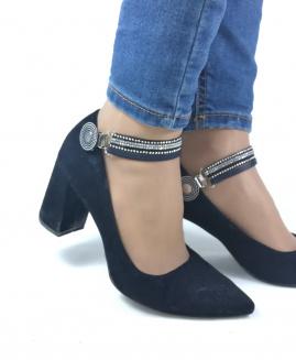 Lucy Clip Fashion Negro