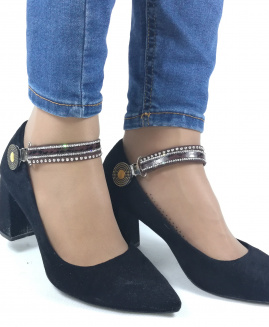 Lucy Clip Fashion Marrón Oscuro