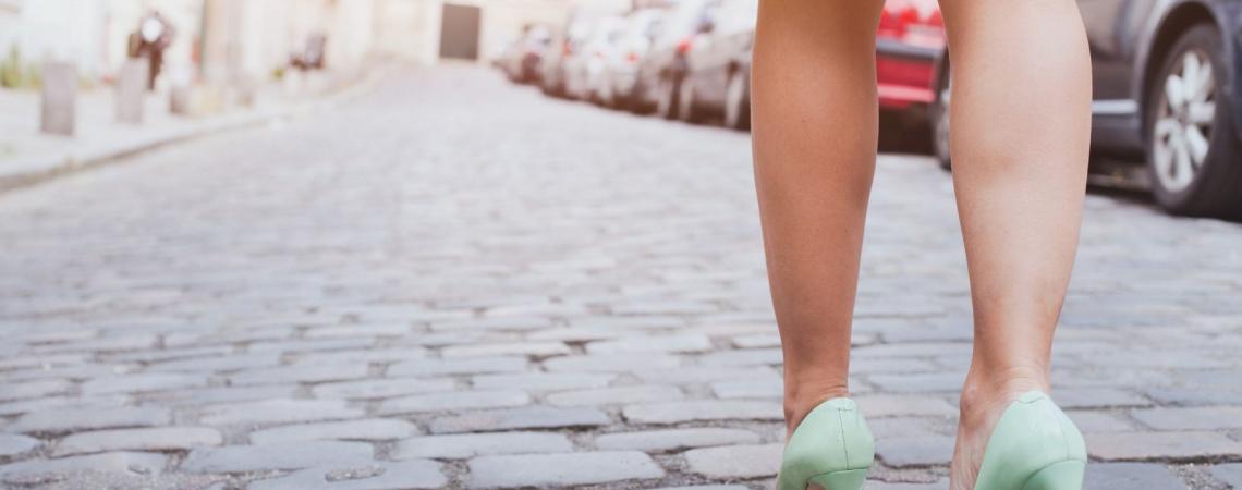 Zapatos de tacón cómodos