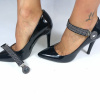 Lucy Clip Tachas Negro